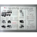 FORD SERIES P 350 500 PARCEL DELIVERY CHASSIS BROCHURE AUTOCARRO INGLESE