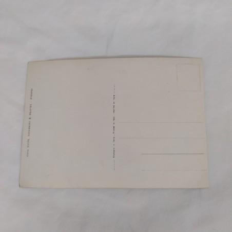 WALTER CHIARI cartolina promozionale con autografo originale