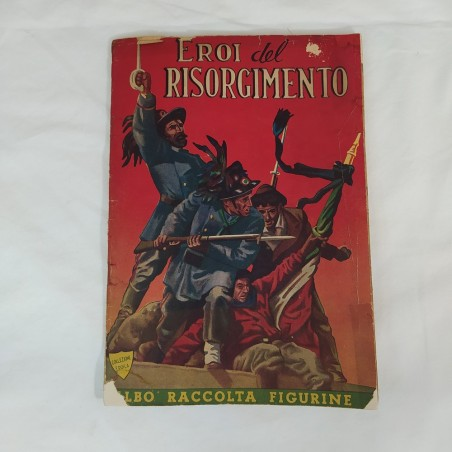 EROI del RISORGIMENTO album figurine incompleto anno 1950