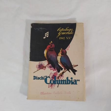 Cataloghi dischi anni 30/40 LA VOCE DEL PADRONE e COLUMBIA