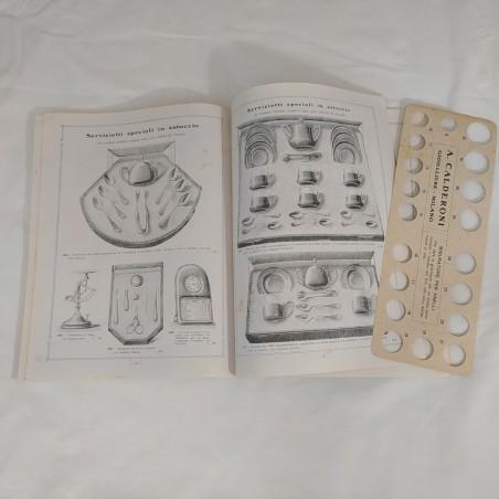 Catalogo CALDERONI Gioielleria argenteria oreficeria orologeria 1911