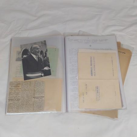 Cartella documenti C.L.N 1944 1945 1946 e 1947 originali