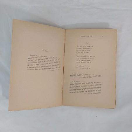 Libro I SOGNI 3° Canzoniere - Berto Barbarani. Autografo dell'autore 1924