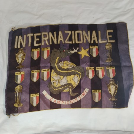 Originale foulard calcio INTER 1965 dimensioni 60x42 cm