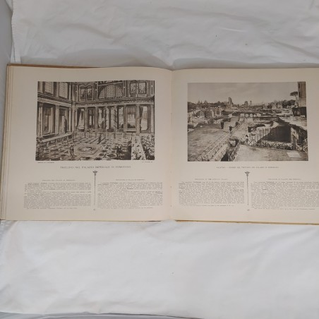 Libro RESTAURI DELLA ROMA IMPERIALE 1931 Giuseppe Gatteschi