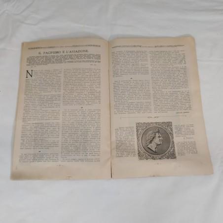 Lotto di 5 riviste LAN Lega Aerea Nazionale 1912-1915