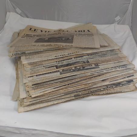 Lotto 117 giornali LE VIE DELL'ARIA anni 39/40/41 condizioni discrete
