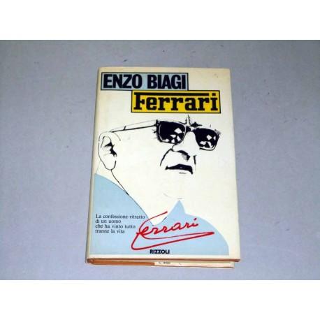 LIBRO FERRARI ENZO BIAGI LIBRO INTERVISTA RIZZOLI 172 PAG. 1980 BUONE CONDIZIONI